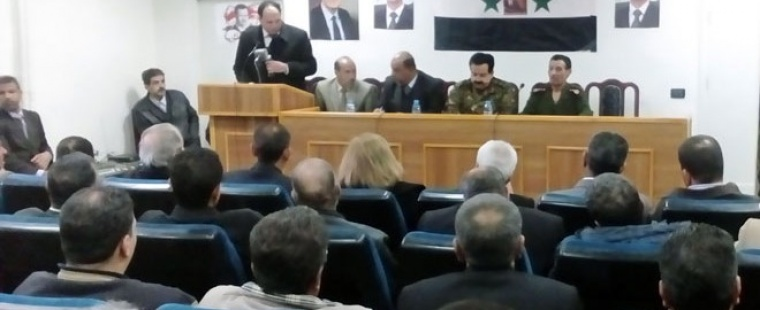 Quneitra Governorate Council demands to monitor the distribution of social aid increased allocation of heating fuel oil operations